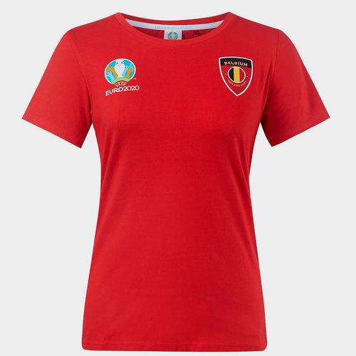 Euro 2020 Belgium Core T Shirt Ladies