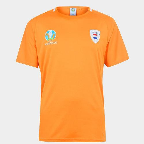 Euro 2020 Netherlands T Shirt Mens