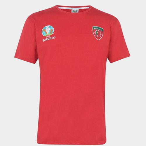 Euro 2020 Portugal Core Tee Mens