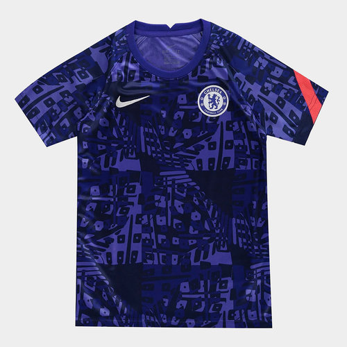 Chelsea European Pre Match Shirt 20/21 Kids