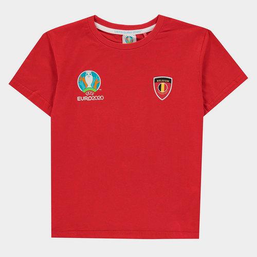 Euro 2020 Belgium Core Tee Juniors
