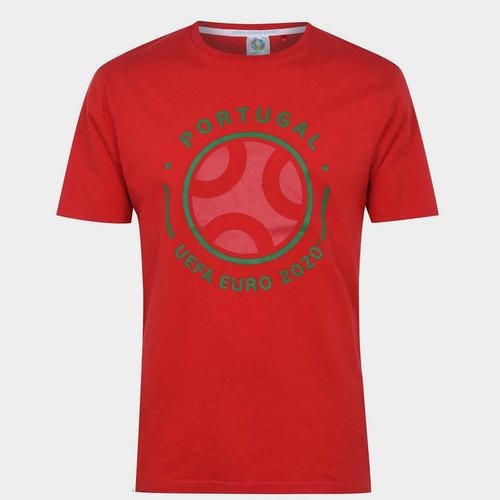 Euro 2020 Portugal Graphic T shirt Mens