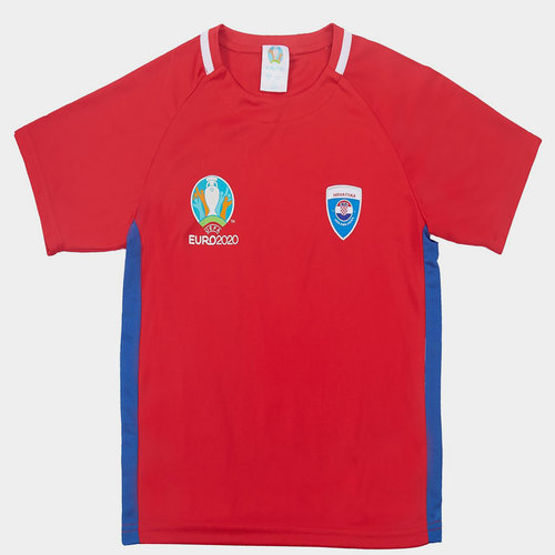 Euro 2020 Croatia Polyester T Shirt Junior