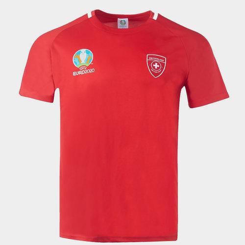 Euro 2020 Switzerland Polyester T Shirt Mens