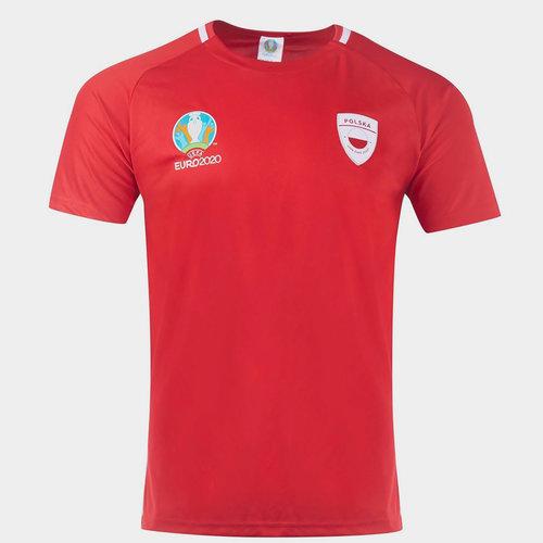 Euro 2020 Poland Poly T Shirt