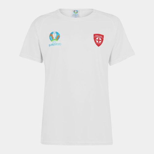 Euro 2020 England Poly T Shirt Mens