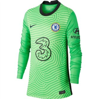 Chelsea Home Goalkeeper Shirt 20/21 Kids