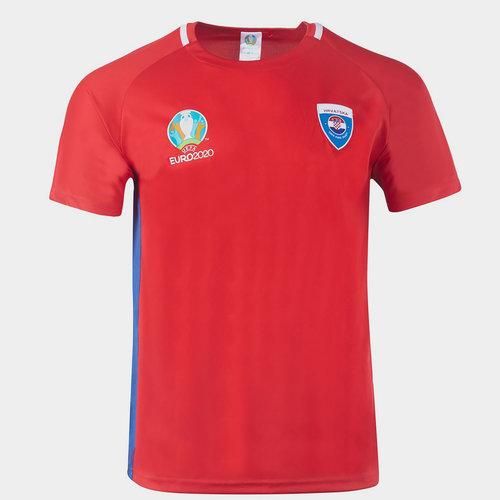 Euro 2020 Croatia Polyester T Shirt Mens