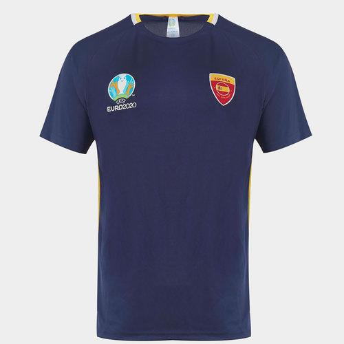 Euro 2020 Spain Poly T Shirt