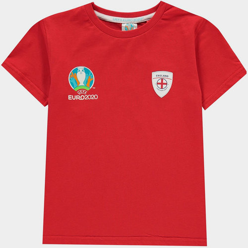 Euro 2020 England Core T Shirt Juniors