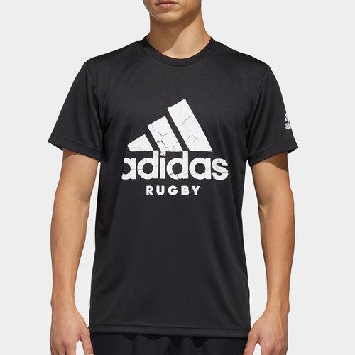 adidas Rugby Logo T-Shirt
