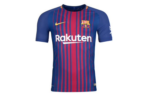 FC Barcelona 17/18 Home Players Match Day S/S Football Shirt