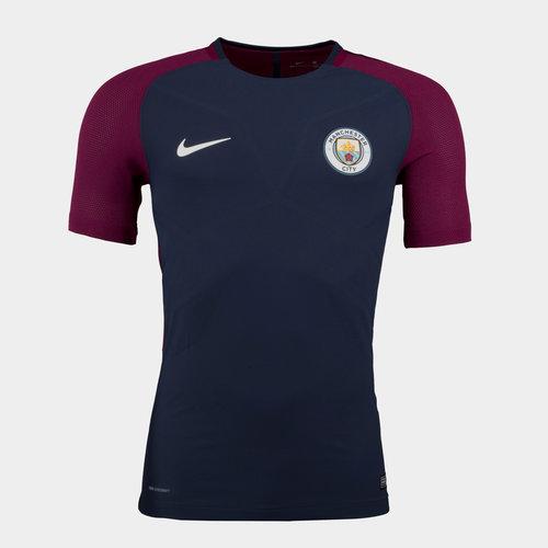 Manchester City 17/18 Aeroswift Strike Football Top