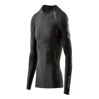 SKINS A400 Mens Compression L/S Top