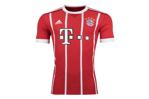 Bayern Munich 17/18 Home S/S Replica Football Shirt
