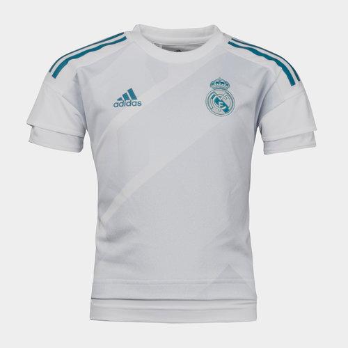 Real Madrid 17/18 Youth Pre-Match Football Training Shirt