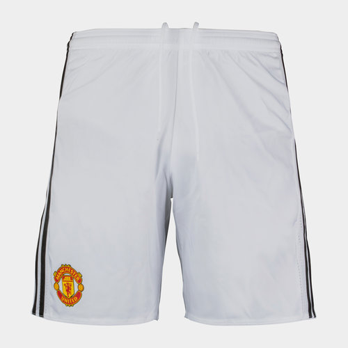 Manchester United 17/18 Players Authentic Home Football Shorts