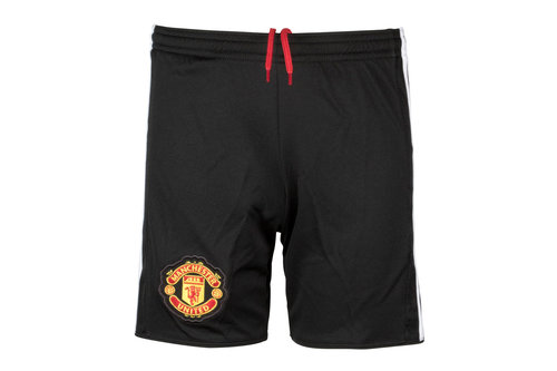 Manchester United 17/18 Home Kids Football Shorts
