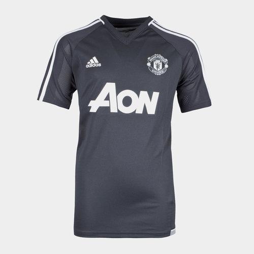 Manchester United 17/18 Kids S/S Football Training Shirt