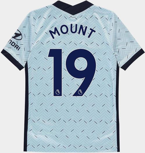 Chelsea Mason Mount Away Shirt 20/21 Kids
