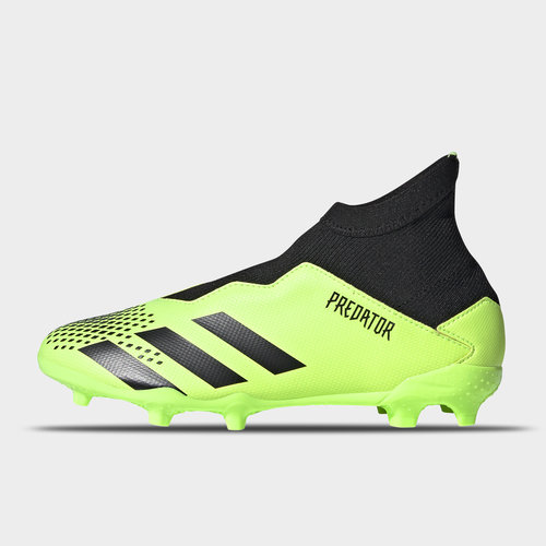 Predator 20.3 Laceless Junior FG Football Boots