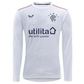 Rangers Away Long Sleeve Shirt 20/21 Kids