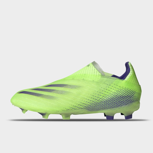 X Ghosted + Junior FG Football Boots Mens