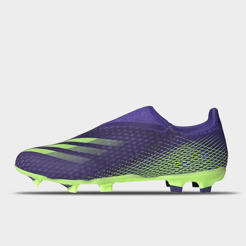 X Ghosted .3 Laceless FG Football Boots Mens