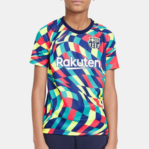 Barcelona Pre Match Shirt 20/21 Kids