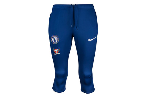 Chelsea FC 17/18 Dry Squad 3/4 Football Training Pants