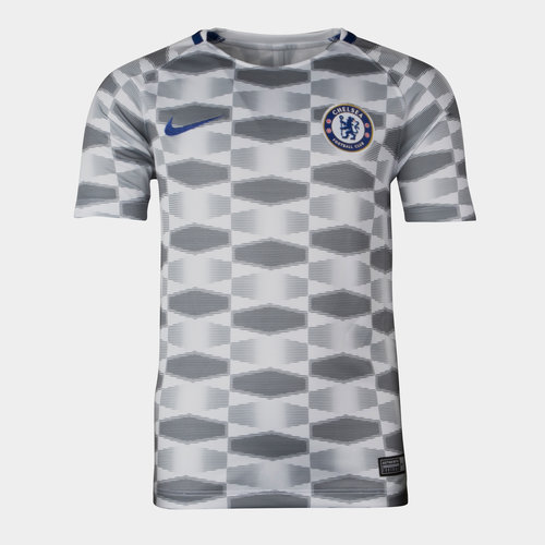 Chelsea FC 17/18 Kids Dry Squad GX Football Training Shirt