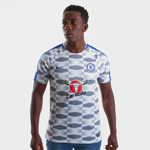 Chelsea FC 17/18 Dry Squad GX Football Training Shirt