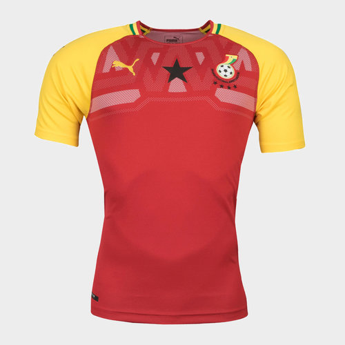 Ghana 17/18 Home S/S Replica Football Shirt