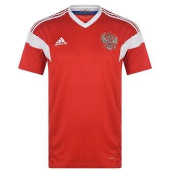 Russia 17/18 Home SS Football Shirt