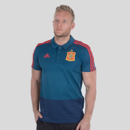 Spain 2018 Climalite Football Polo Shirt