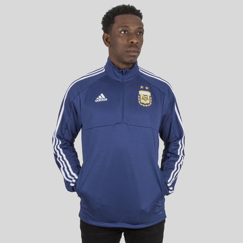 Argentina 2018 1/4 Zip Football Training Top