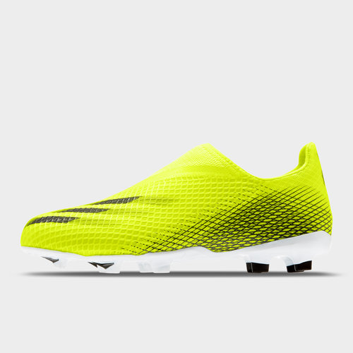 X Ghosted .3 Laceless Junior FG Football Boots