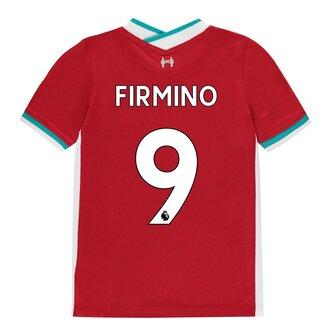 Liverpool Roberto Firmino Home Shirt 20/21 Kids