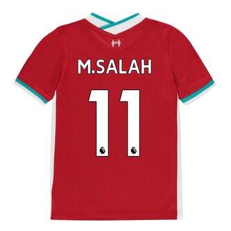 Liverpool Home Mohamed Salah Home Shirt 20/21 Kids
