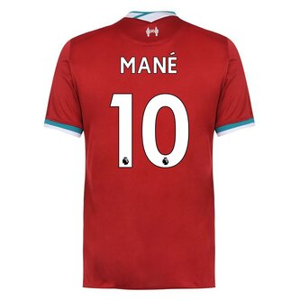 Liverpool Sadio Mane Home Shirt 20/21 Mens