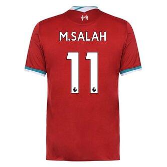 Liverpool Mohamed Salah Home Shirt 2020 2021