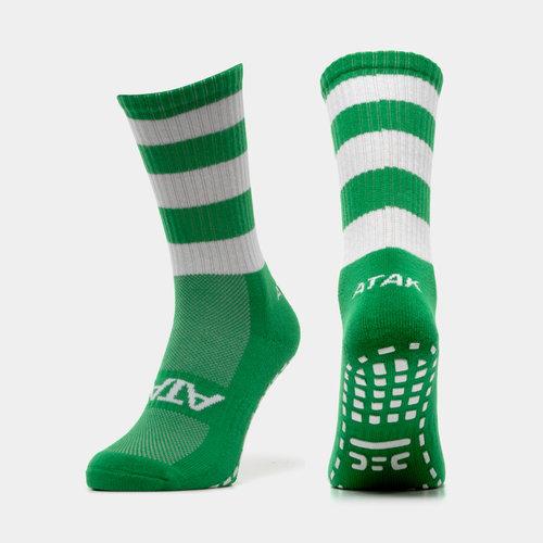 Shox Non Slip Mid Leg Hoop Grip Socks