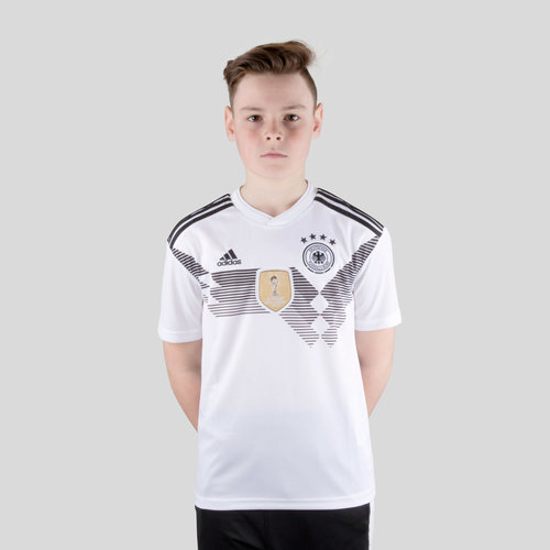 Germany 2018 Home Kids S/S Replica Football Shirt