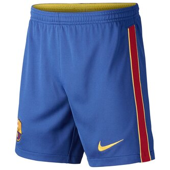 Barcelona Home Shorts 2020 2021 Junior