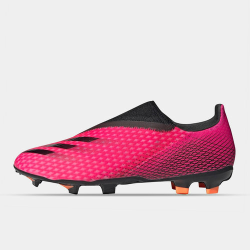 X Ghosted .3 Laceless FG Football Boots