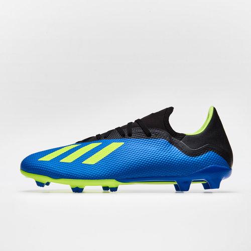 34633e307c9 adidas X 18.3 FG Football Boots. Football Blue Solar Yellow Core Black