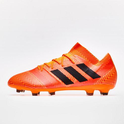 cd59cf3ef782 adidas Nemeziz 18.2 FG Football Boots. Zest/Core Black/Solar Red