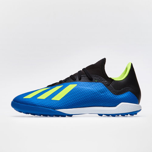 c7ac224a9585 adidas X Tango 18.3 TF Football Trainers. Football Blue/Solar Yellow/Core  Black
