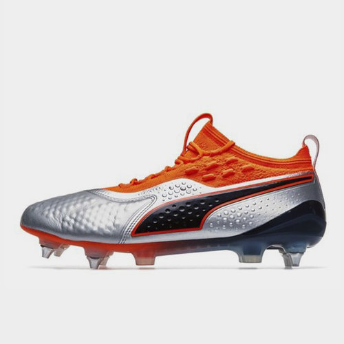 One 1 Leather Mx SG Football Boots