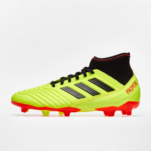 4ac67943da9 adidas Predator 18.3 FG Football Boots. Solar Yellow Core Black Solar Red